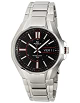 Casio Edifice Analog Black Dial Men's Watch - EF-133D-1AVDF (EX085)