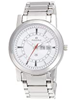 Maxima Attivo Analog White Dial Men's Watch - 24900CMGI