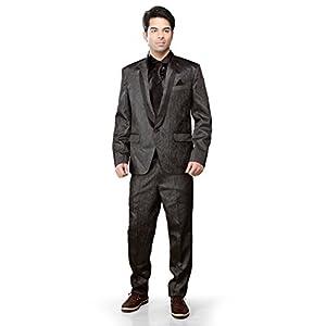 Utsav Fashion Blazer Suit - Dark Grey