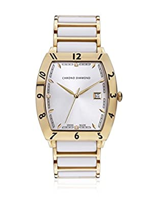 Chrono Diamond Reloj de cuarzo Man Blanco