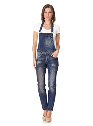 Lotus Jeans Megan Carrot Overall River Cary (Dark Blue)