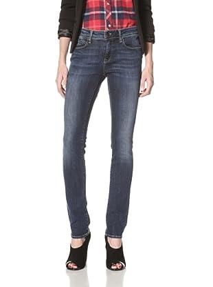 Mavi Women's Alexa Super Skinny Jean (Mid Gold Cupra)