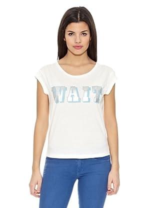 Springfield Camiseta T Wait Foil (Blanco)