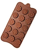Scrazy Perfect Flower Shape Silicon Chocolate Moulds