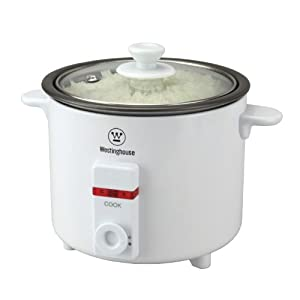 Westinghouse WKRC01 Rice Cooker-White