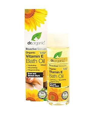 Dr Organic Olio Bagno e Massaggio Vitamin E 100 ml