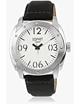 Es106381002-N Black/White Analog Watch Esprit