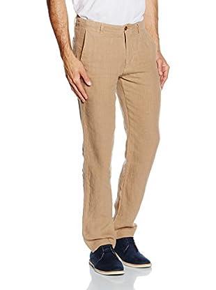 Dockers Pantalone Lino Marina Slim lino