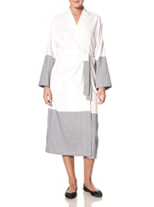 Natori Women's Mieu Robe (White/Blue)