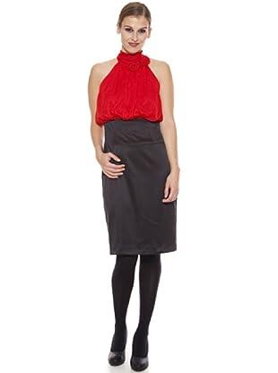 Jotamasge Vestido Vuela (Rojo)