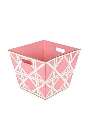Jayes Cane Storage Bin, Pink