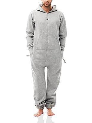 ZIPUPS Mono-Pijama Zipups Blank Grey Melange 2Xl