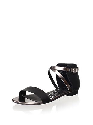 Kelsi Dagger Women's Kacie Sandal (Black/Silver)