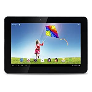 Hannspree 10.1-inch Quad Core Tablet PC T7 Series with IPS 1280x800 10 Points Touch and 16GB Memory Android Jelly Bean (Metallic Color)