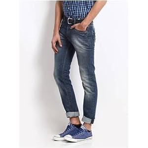 fe Modern Men Blue Jeans
