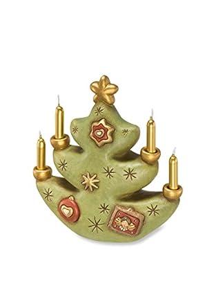 Thun Albero di Natale Portacandela Verde