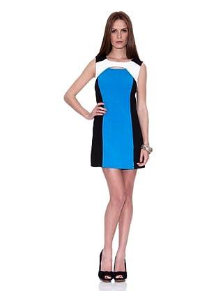 HHG Vestido Hedy (Negro / Blanco / Azul)