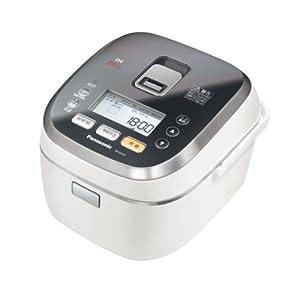 Panasonic スチームIHジャー炊飯器 ホワイト SR-SX101-W