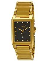 Timex Classics Analog Black Dial Men's Watch - CT07