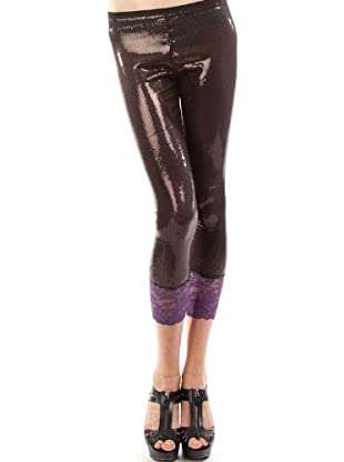 Custo Legging (marrón chocolate)