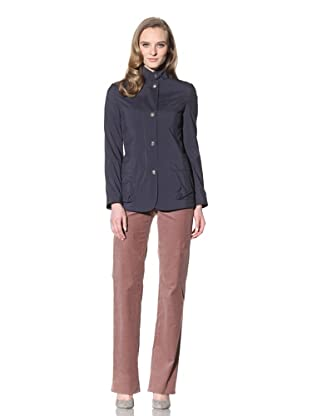 Loro Piana Women's Cashmere-Lined Jacket (Navy)