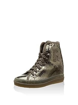 Ruco Line Sneaker Zeppa 4906 Studs Desert