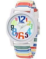 Sprout Women's ST/5508MPMT Colorful Dial Tyvek Strap Bio-Degradable Watch