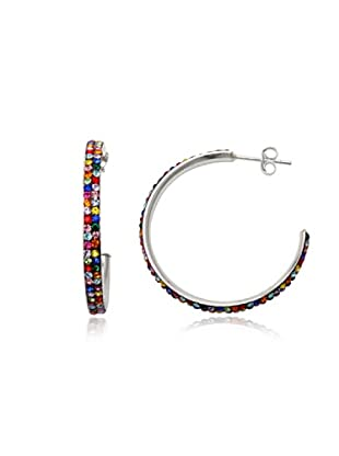 Fashion Victim Pendientes con Cristales multicolor