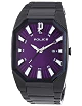 Police Analog Purple Dial Men's Watch - 13755JSB/15M