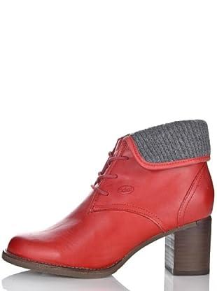 Scholl Botines Ariela (Rojo)