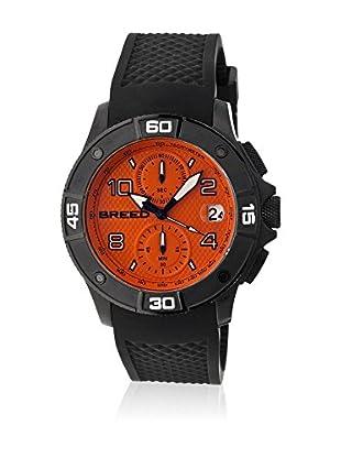 Breed Reloj con movimiento cuarzo japonés Brd5808 Negro 42  mm