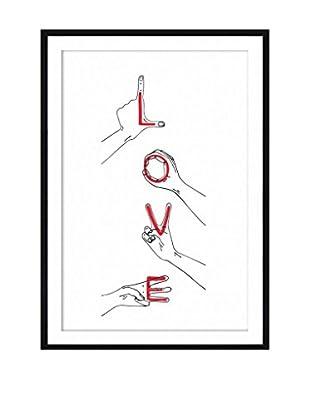 Surdic Gemälde Love