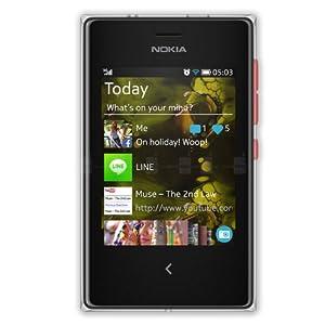 Nokia Asha 503 (Dual SIM, Red)