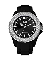 H2X Reef Stones Analog Black Dial Women's watch - SS382DN1