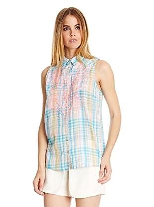 Peace & Love Camisa Mujer Estampada