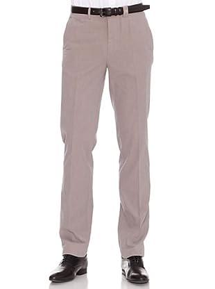 PEDRO DEL HIERRO Pantalón Oxford (beige / azul)