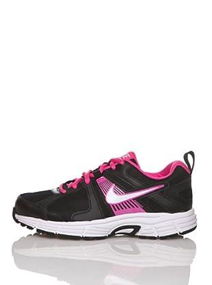 Nike Zapatillas Running Dart 10 (Gs/Ps) (Negro / Rosa)