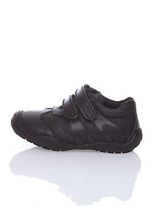 Billowy Zapatillas Deportivas Velcro (Negro)
