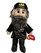 "Sunny Toys 14"" Biker In Leather/Jeans Glove Puppet"