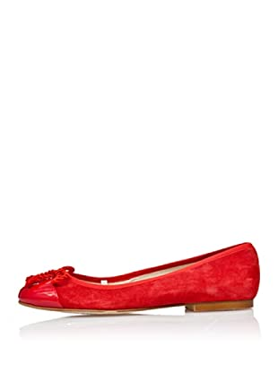 Cortefiel Ballerina Fiocco (Rot)