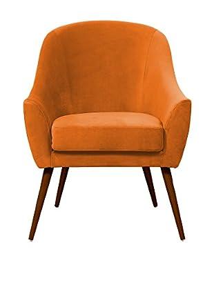 Hawke & Thorn Sessel Herman Armchair orange