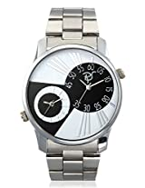 RICO SORDI Mens Multifunctional Dual Time watches with Stainless Steel Strap_RSMW_S12DT