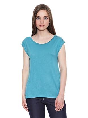 Carrera Jeans Camiseta Girocollo (Azul)
