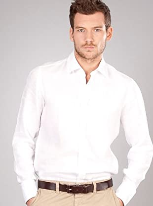 Hugo Boss Camisa Básica (blanco)