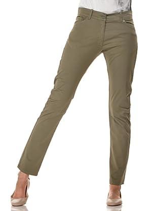 Annarita N Pantalón Skinny (Verde)