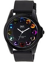 Q&Q Analog Black Dial Unisex Watches - VR42J022Y