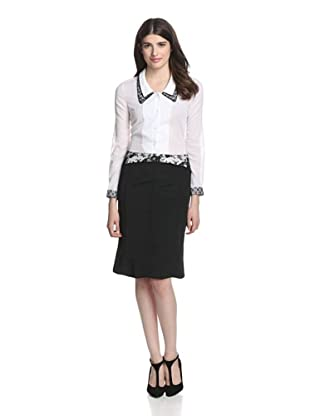 Thom Browne Women's Tulip Skirt (Black)