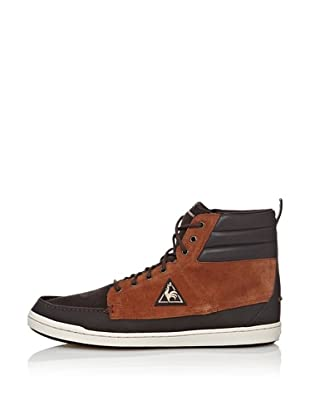 Le Coq Sportif Botines Chaumont Suede (Chocolate)