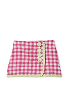 Upper School Girl's Wrap Skirt (Magenta)