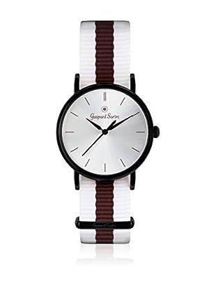 Gaspard Sartre Reloj de cuarzo Unisex La Variée Blanco / Marrón